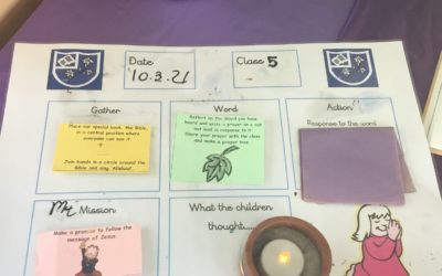 Read more about Year 5 Collective worship 10.3.21