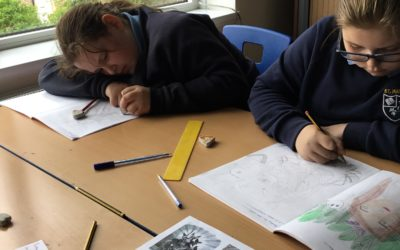 Read more about Year 6 Art Day Sketching
