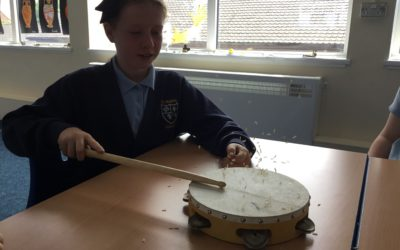 Read more about Year 4 creating sound waves!